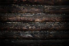 Donkere houten textuur Stock Afbeeldingen