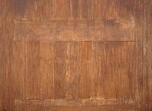 Donkere houten textuur Royalty-vrije Stock Foto's