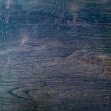Donkere houten textuuroppervlakte als achtergrond met oud natuurlijk patroon of oude houten de bovenkantmening van de textuurlijs Stock Foto