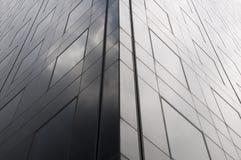 Donkere kant van de wolkenkrabber Royalty-vrije Stock Foto's