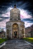 Donkere kathedraal hdr Royalty-vrije Stock Afbeeldingen