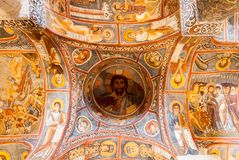 Donkere Kerk - Cappadocia, Turkije Royalty-vrije Stock Afbeelding