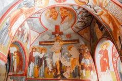 Donkere Kerk - Cappadocia, Turkije Royalty-vrije Stock Afbeeldingen