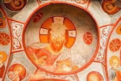Donkere Kerk - Cappadocia, Turkije Stock Afbeelding