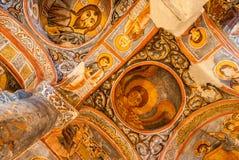 Donkere Kerk - Cappadocia, Turkije Royalty-vrije Stock Foto
