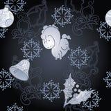 Donkere Kerstmisachtergrond Royalty-vrije Stock Foto