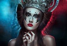 Donkere koningin Royalty-vrije Stock Foto's