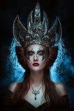 Donkere koningin royalty-vrije stock foto