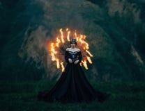 Donkere kwade koningin Stock Foto