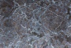 Donkere marmeren textuurachtergrond, Gedetailleerd echt marmer van aard Stock Afbeeldingen