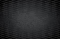 Donkere metaalachtergrond Stock Afbeelding