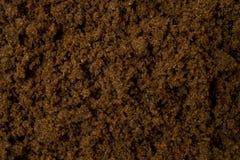 Donkere Muscovado-Suiker stock foto