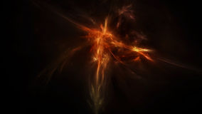 Donkere mystieke diepe ruimte Stock Afbeelding