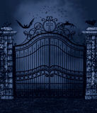 Donkere Nacht Royalty-vrije Stock Foto's