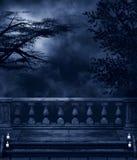 Donkere Nacht Stock Foto's