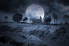 Donkere Nacht Royalty-vrije Stock Fotografie