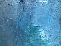 Donkere nacht van indigo diepe kosmos Donkerblauwe achtergrond met natuurlijke indigo het schilderen texturen De verbazende night Royalty-vrije Stock Afbeeldingen