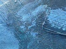 Donkere nacht van indigo diepe kosmos Donkerblauwe achtergrond met natuurlijke indigo het schilderen texturen De verbazende night Stock Foto's