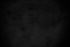 Donkere oppervlakte van de muur van het cementpleister Stock Foto