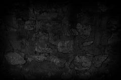 Donkere oppervlakte van de oude vuile cementmuur Royalty-vrije Stock Afbeeldingen