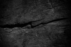 Donkere oppervlakte van oud hout Royalty-vrije Stock Foto's