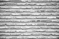 Donkere Oude Bakstenen muurtextuur Royalty-vrije Stock Foto's