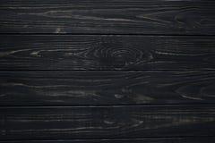 Donkere oude geschilderde houten textuur, achtergrond en behang Stock Afbeelding
