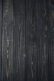 Donkere oude geschilderde houten textuur, achtergrond en behang Stock Foto's