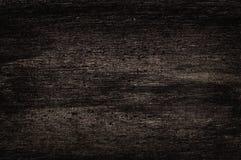 Donkere oude houten textuur Stock Foto's