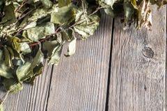 Donkere Oude Houten Textuur of Als achtergrond Hoogste Mening Stock Foto's
