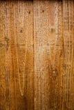 Donkere oude houten van de lijsttextuur hoogste mening als achtergrond Bruine houten bedelaars Royalty-vrije Stock Foto's