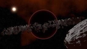Donkere planeet Stock Afbeeldingen