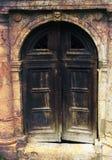 Donkere poort stock afbeeldingen