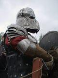 Donkere ridder Stock Foto's