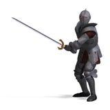 Donkere Ridder royalty-vrije illustratie