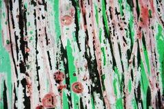 Donkere roze groene zwarte wasachtige druppelsverf De abstracte achtergrond van de waterverfverf Royalty-vrije Stock Afbeeldingen