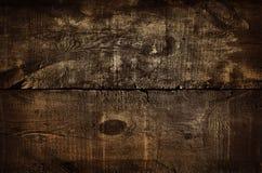 Donkere rustieke gouden muurachtergrond, textuur van oude vergulde hoogste lijst Houten grungetextuur, hoogste mening van bruine  stock foto's