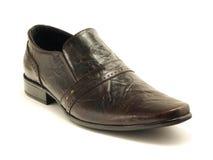 Donkere schoen Stock Foto
