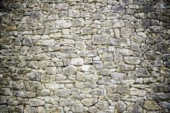 Donkere steenvoorgevel Stock Foto