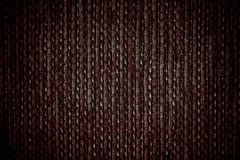 Donkere stoffentextuur Stock Foto's