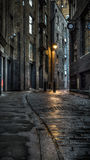 Donkere Straat Stock Fotografie