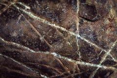 Donkere textuur van de zandige rots Royalty-vrije Stock Foto
