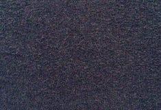 Donkere textuur van gebreide stof Stock Fotografie