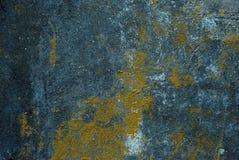 Donkere textuur van oud pleister Stock Fotografie