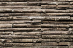 Donkere toon oude houten textuur Royalty-vrije Stock Afbeelding