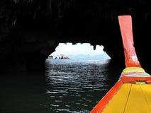 Donkere Tunnel Stock Fotografie