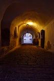 Donkere tunnel Royalty-vrije Stock Fotografie
