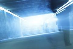 Donkere tunnel Royalty-vrije Stock Afbeeldingen