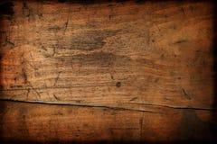 Donkere uitstekende houten textuur Stock Afbeeldingen