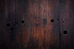 Donkere uitstekende houten textuur Royalty-vrije Stock Foto